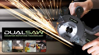 Dual Saw - Advanced Double Blade Technology