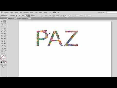 Illustrator Básico 19 - CLIPPING MASK - Textos Estilizados