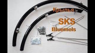 Установка крыльев SKS Bluemels.