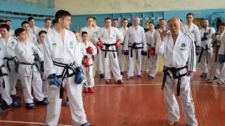 Technical Seminar with Grand Master Kim Ung Lan IX-dan - Ukraine 2016