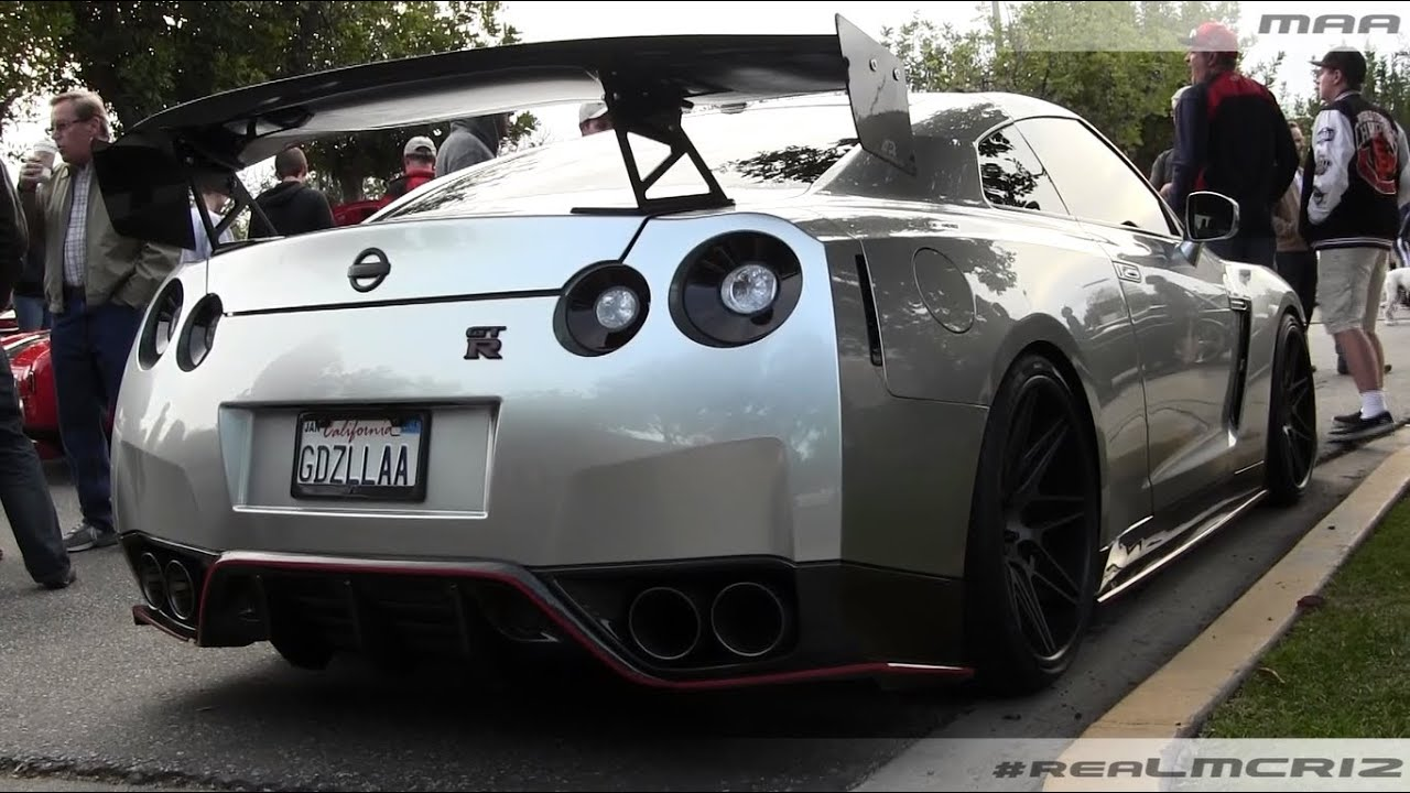 Tuned Nissan Gtr Crazy Mods Youtube