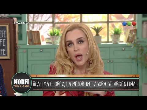 ¿Cómo arma los personajes Fátima Florez? - Morfi