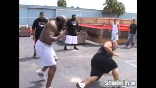 kimbo Slice vs Afropuff  and Big Mac