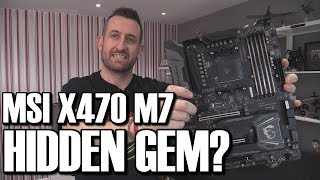 MSI X470 Gaming M7 Motherboard Review