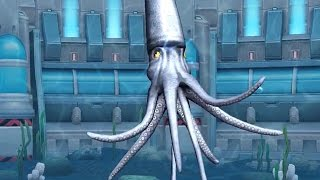 Jurassic Park Builder Battle - Colossal Squid Super Moves [Final Evolution]