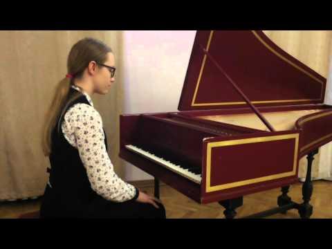Куперен, Луи - Сюита для клавесина Соль мажор