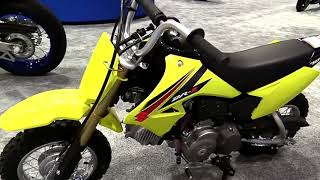 2018 Suzuki DRZ 70 Complete Accs Series Lookaround Le Moto Around The World