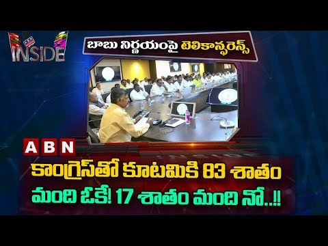 83% of TDP Senior Leaders Accepts Alliance with Congress | Inside