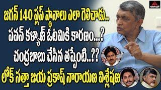 Lok Satta Jayaprakash Narayan Reaction On AP Election Results | YS Jagan | Chandrababu | Mirror TV