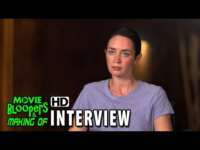 Sicario (2015) Behind the Scenes Movie Interview - Emily Blunt is 'Kate Macer'