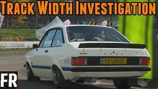 Forza Horizon 4 - Track Width Investigation
