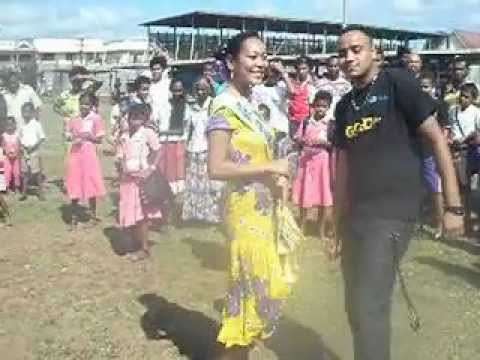 Tu Mera Hero By Fiji Police Band At Subrail Park Labasa video