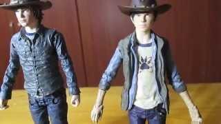 Figura The Walking dead Carl Grimes serie 7