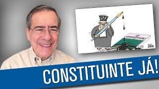 Quem não quer nova Constituição é a Globo