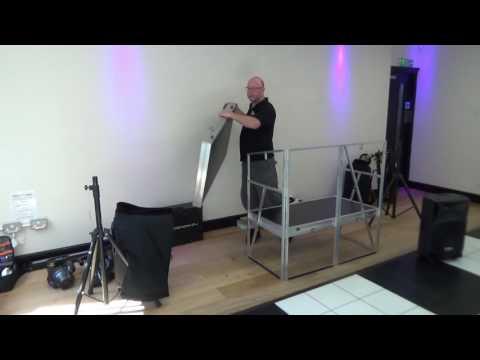 Paladin DJ Case Booth Set-up