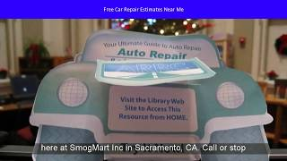 Free Car Repair Estimates Near Me