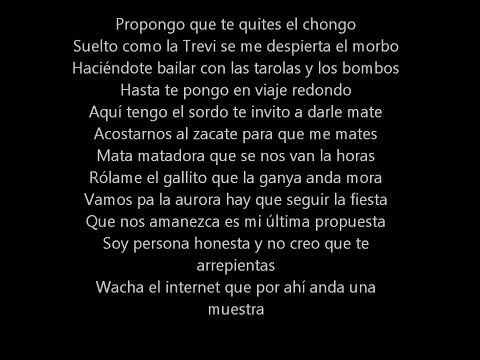 Cartel de Santa - Bombos y Tarolas Lyrics (Letra)