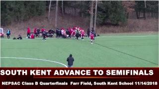 #4 South Kent Prep Soccer vs. #5 Williston Northampton School (2018 NEPSAC CLASS B QUARTERFINALS)