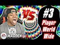 Playing the Number 3 Ranked Player In The World! | Madden 18 Ultimate Team Gameplay - MUT 18