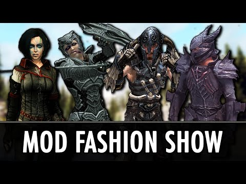 Skyrim Mods: Armour Fashion Show