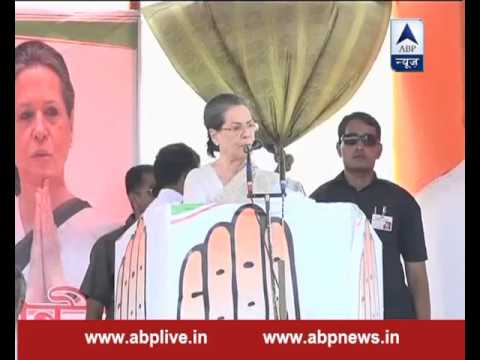 BJP wants to bring tradition of dictatorship in country: Sonia Gandhi
