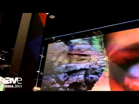 CEDIA 2014: Screen Innovations Demos Updated Black Diamond Glass Projection Screen
