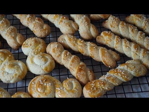 ГРЕЧЕСКОЕ ПЕЧЕНЬЕ КУЛУРАКИЯ/Кουλουρακια/Greek cookies