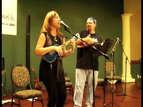 One - Luna Jade & Keith Cronin live at South Florida Ukulele Festival (original song)