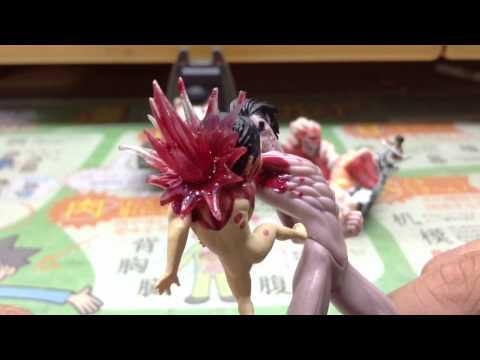 進撃の巨人のガチャ開封 リアルアンパンマン 動画