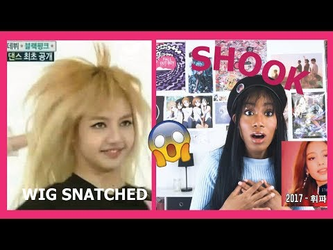 Reacting to BLACKPINK LISA and JENNIE RAP COMPILATION