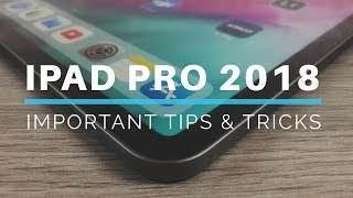 iPad Pro 2018 Tips and Tricks for Beginners