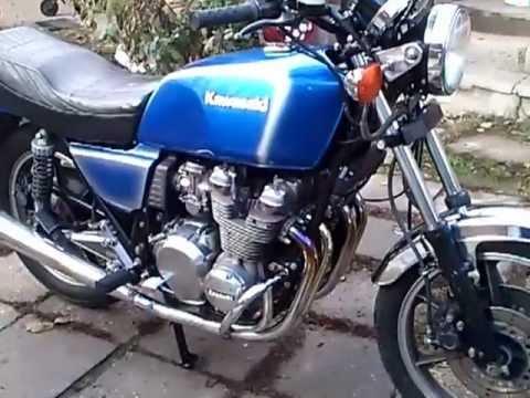 Kawasaki Kz 750 1981 Youtube