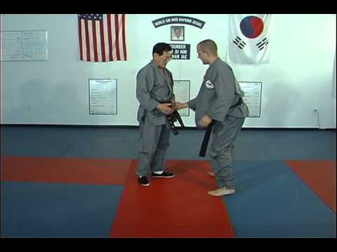 Hapkido Belt Grab Thumb Up Techniques 1 thru 3, Ji Han Jae Image 1