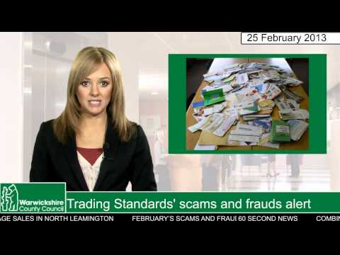 Trading Standards' scams and frauds alert