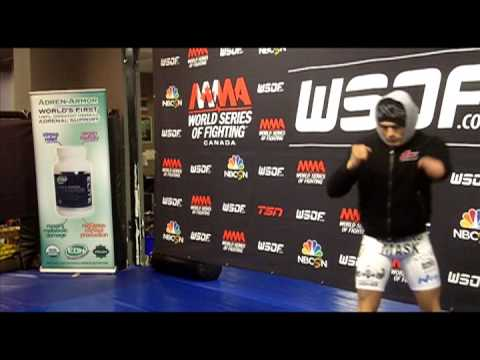 WSOF 7 Open Workout Highlights