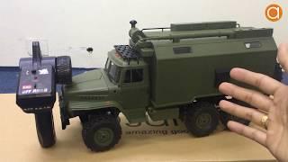 Xe Tải Quân Sự Wpl B36 Ural 1/16 2.4GHz 6Wd Nhông 3 Cầu Bằng Kim Loại - Asun.vn