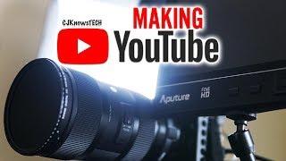 What Camera I Use   Sony a6300 & Sigma 18-35   Aperture Exposure Lenses Slog2 - Making YouTube