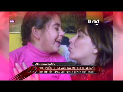 Madre de Paula Díaz: 'Después de la vacuna mi hija comenzó con síntomas que la tienen postrada'