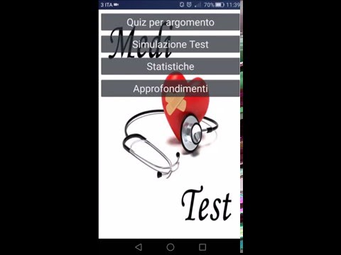 MediTest - Quiz Medicina screenshot for Android