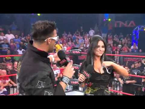 TNA Impact 10/14/10 Jwoww, Angelina Love, Lacey Von Erich, Velvet Sky & Cookie Segment