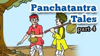 Panchatantra Tales in English - Animated Stories for Kids - Part 4