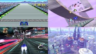Evolution of F-Zero's Mute City