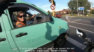 Look at the Behavior of this Female Driver - Ninja 250 Daily Ride, New Zealand