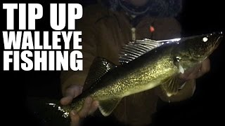 Walleye Fishing With Tip Ups In Northern WI
