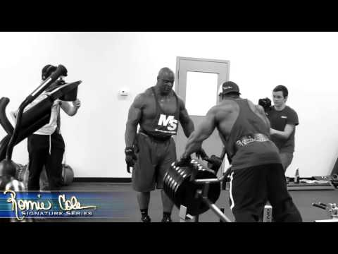 Ronnie Coleman Road The Arnold Classic- Cory Mathews Part 4   Pain video