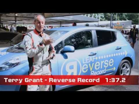 Terry Grant Sets New Reverse Speed Record at 2012 Goodwood