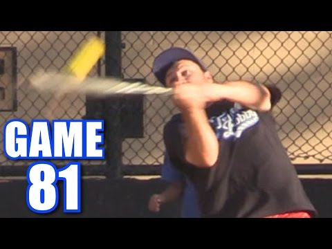 FOUR HOME RUNS IN ONE GAME!   On-Season Softball Series   Game 81