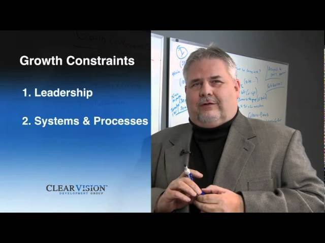 Clear Vision TV: Episode 2  Growth Constraints-System