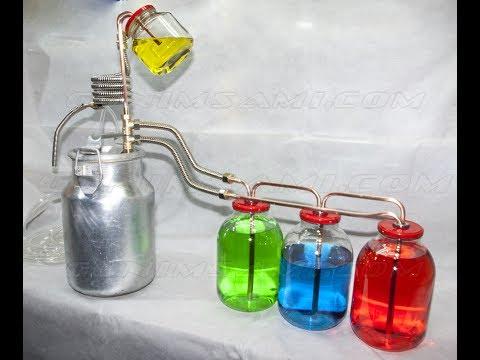 Мощный тройной сухопарник и дистиллятор Цапля-2