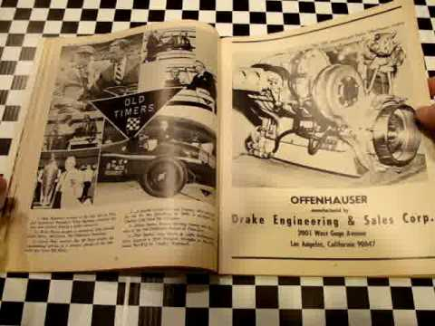 1967 Indy 500 Program Starting Line-Up AJ Foyt Coyote Video